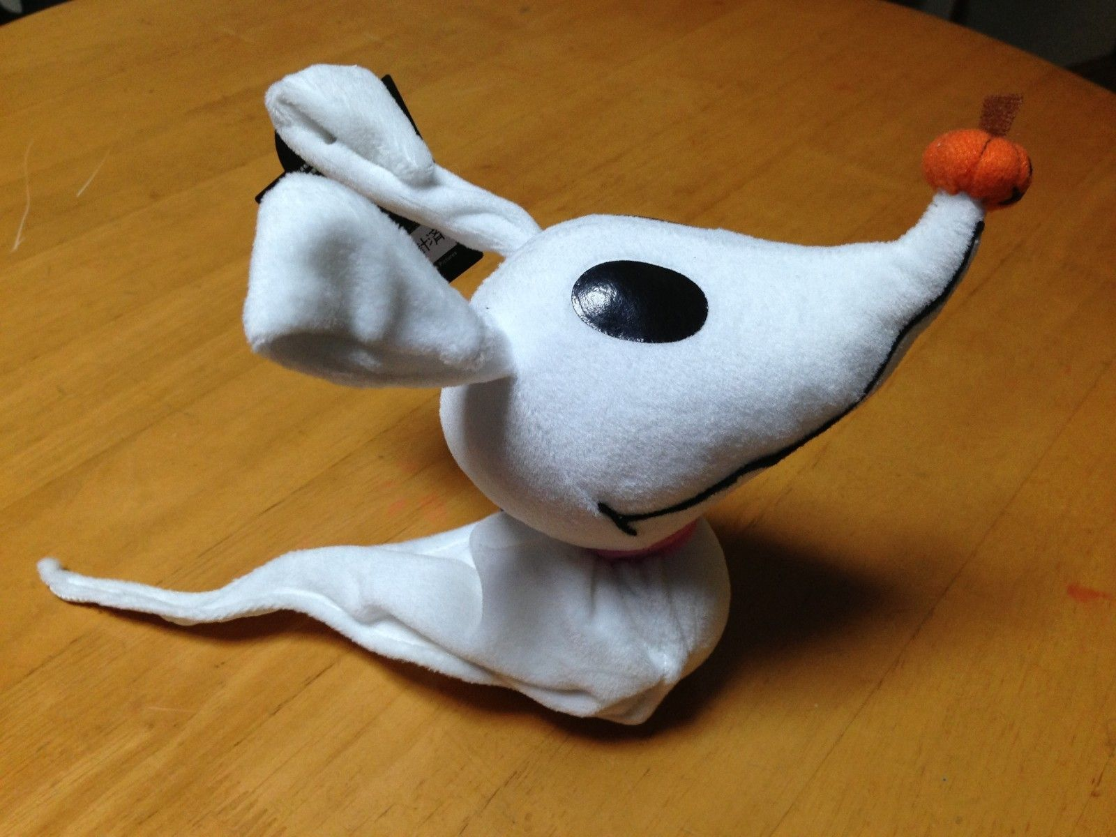 the nightmare before christmas zero dog plush doll bendable ebay