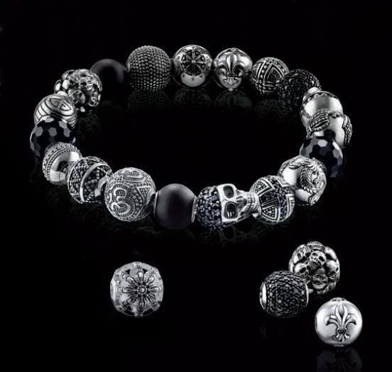Bracelet perle homme thomas sabo