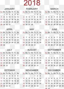2018 Calendar Calendar 2018 Calendar Calendar 2018 Calendar Calendars 2018 Calendar Calendar 2018 Calendar Calendar 2018 Cal Calendar Png Kids World Map Png