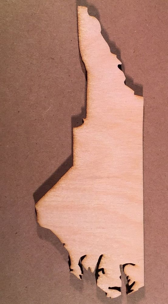 North Carolina Nc Wood Cutout Shapes For Projects Or Other Use