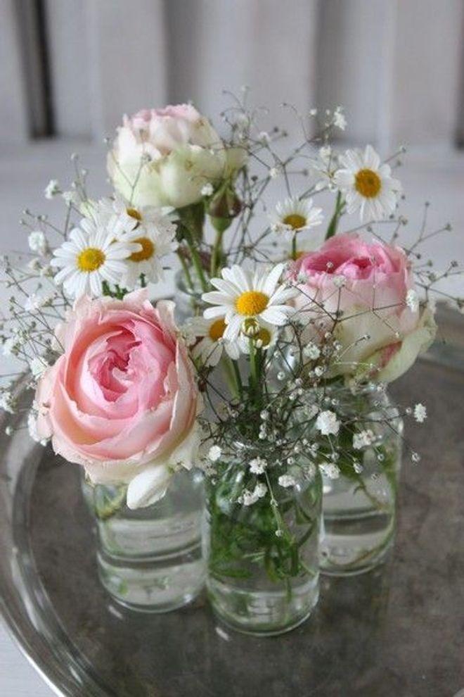 Schön dekoriert: Inspirationen für kreative Blumendeko ganz nach deinem Geschmack! #dekoblumen
