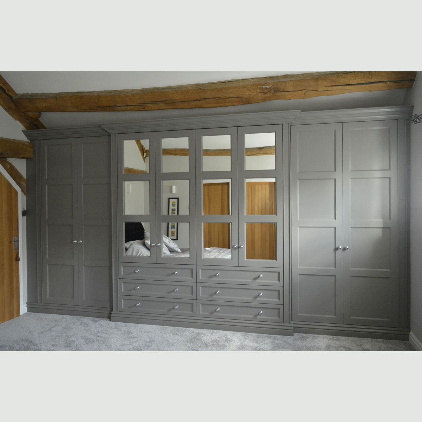 Windsor Wardrobe Design | Bespoke Built In Fitted Wardrobes London