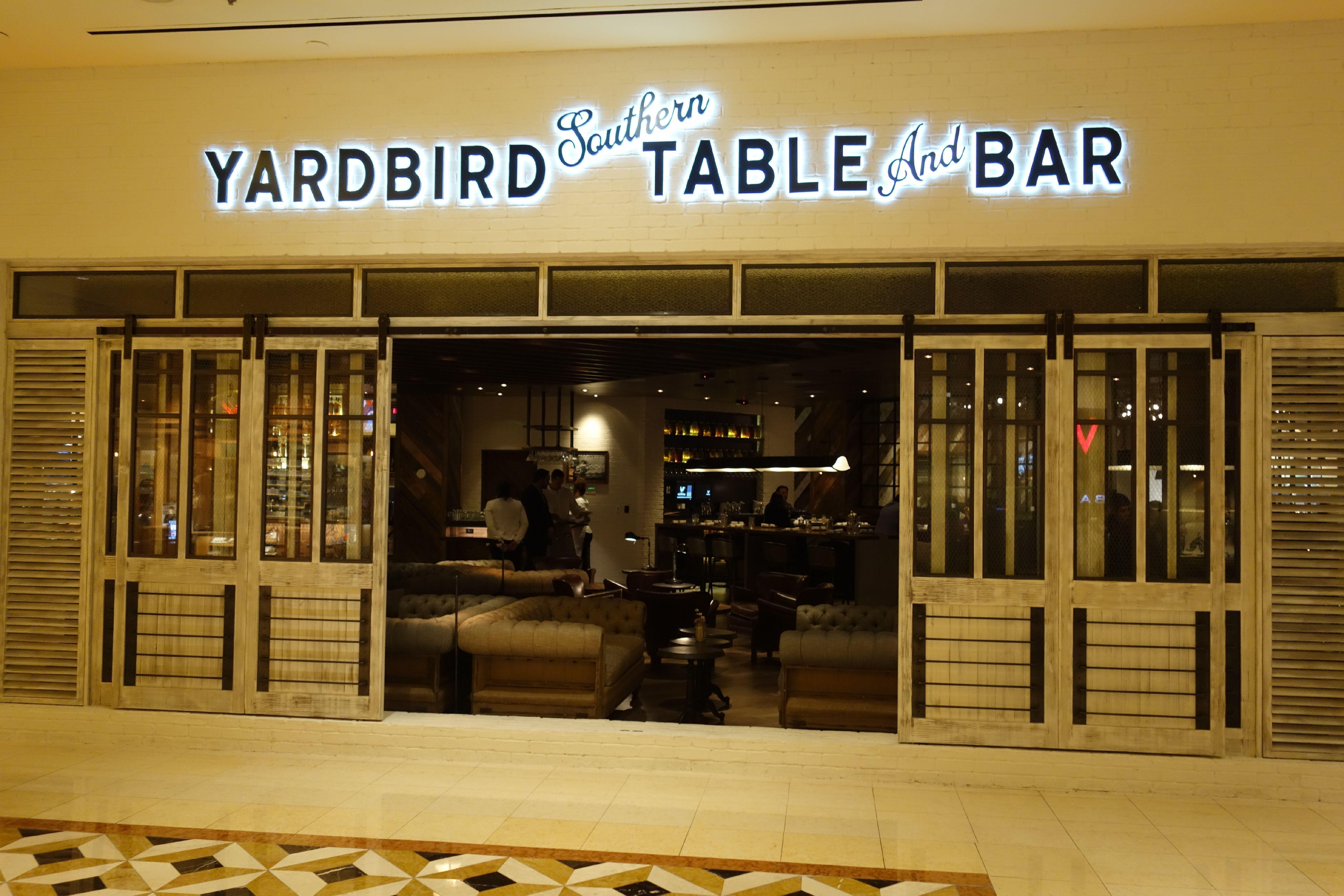 Yardbird exterior