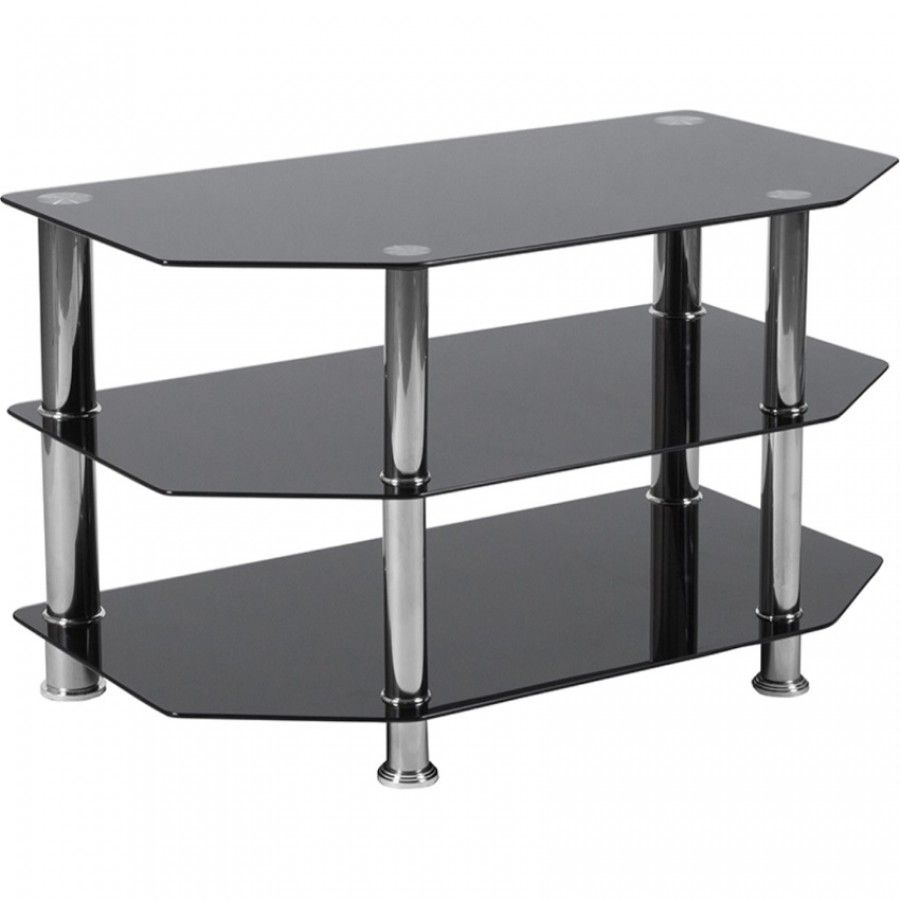 Have Plenty Of Space And Storage With This Tv Stands Open Design