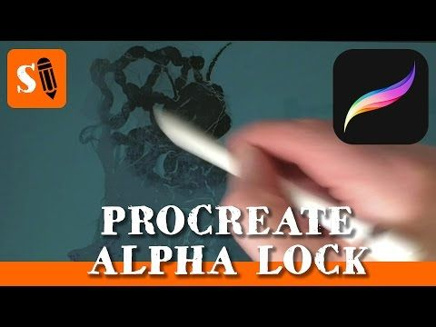 Drawing Straight Lines With Procreate : Procreate ipad pro how to use alpha lock paint shadows