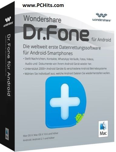 Dr fone android key