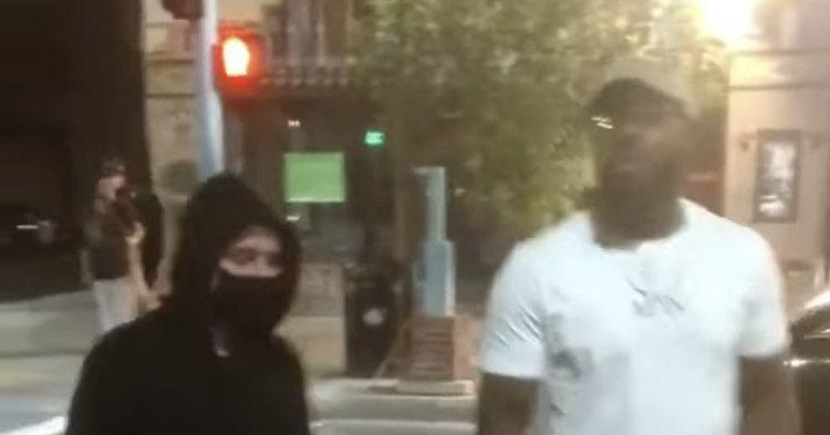 Video Jon Jones Shuts Down Vandalism During Protests In Albuquerque Jon Jones Protest Jones