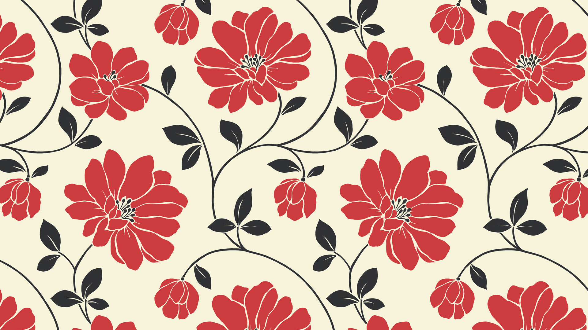 flower pattern tumblr pattern desktop background Poster