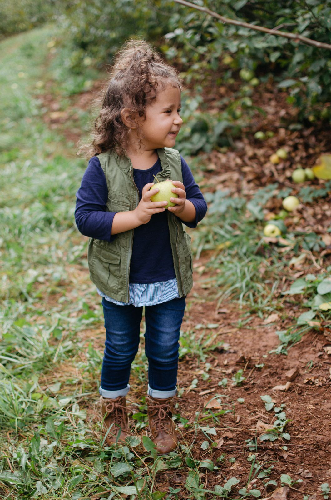 384f157cd Mommy and Me Apple Picking Outfits