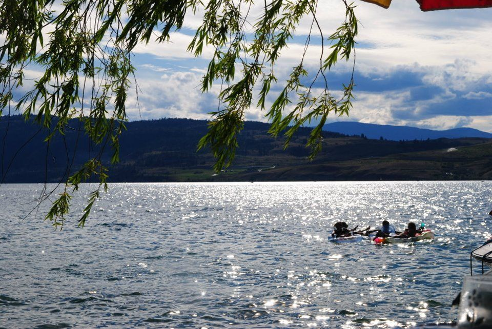 Floating on Kalamalka Lake - Vernon BC -- Curated by Historic O'Keefe Ranch | 9380 Hwy 97N, Vernon, BC V1T 6M8 | 250-938-0937