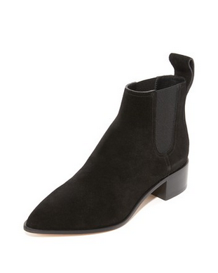 Loeffler Randall Nellie Suede Chelsea Boots Shoes