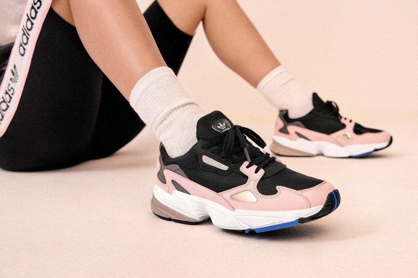 Adidas Originals Falcon W B28126 ROSE CLAIR NOIR Kylie