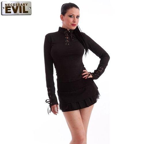 Haut Gothique noir Milisha by Necessary Evil