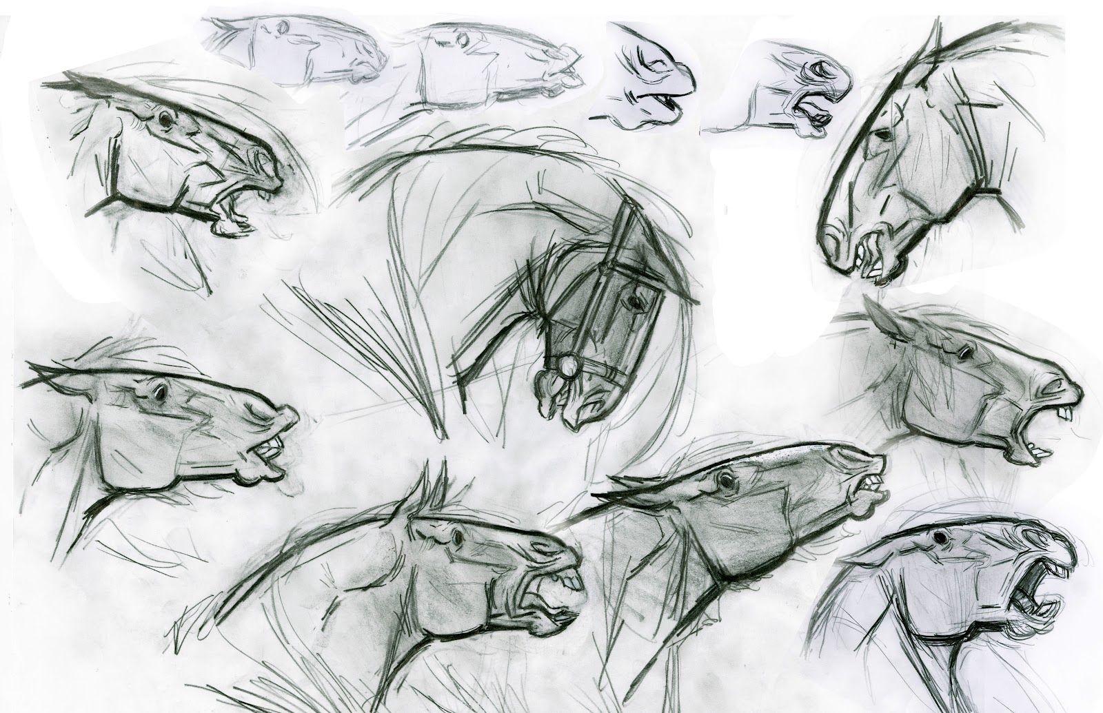 Brave Merida\'s Story Featurette | Caballos, Anatomía y Dibujo