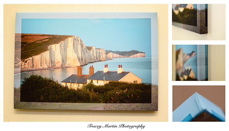 Seven Sisters Canvas Print A3 - Price £20.00 + p&p #craftfest