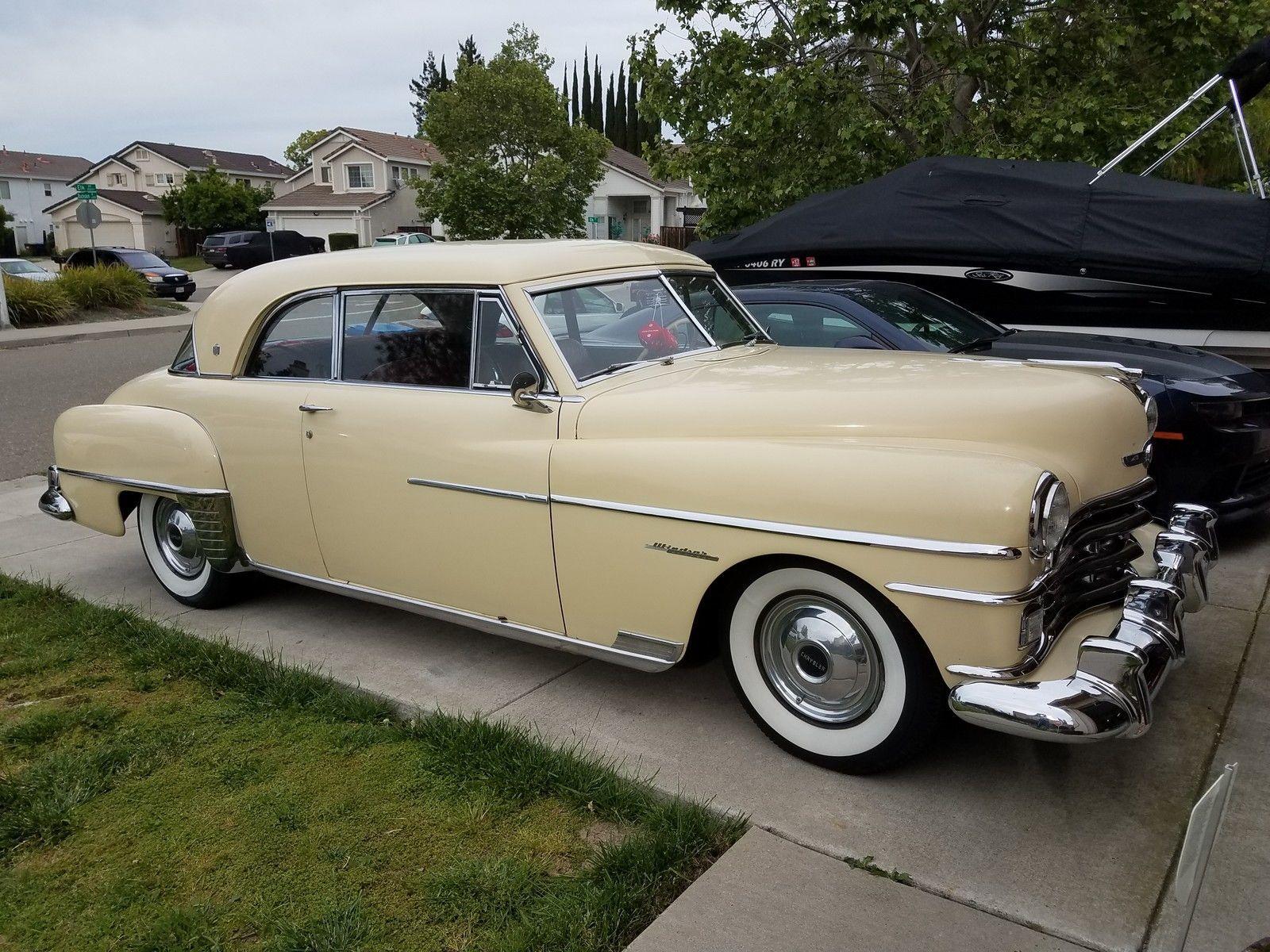 1950 Chrysler Windsor Limousine With Images Avto