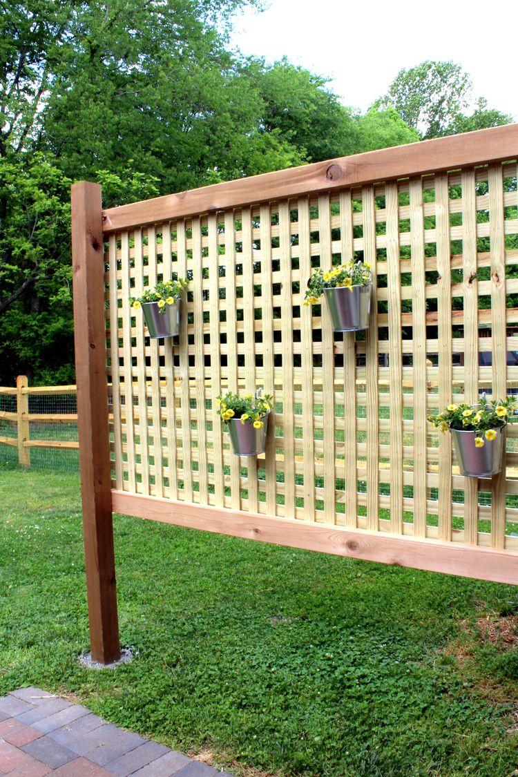 Wood Patio Privacy Screen Diy Privacy Screen Outdoor Backyard Diy Projects Diy Backyard