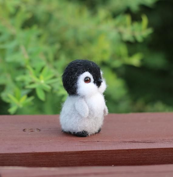 Penguin little penguin toy miniature penguin wool