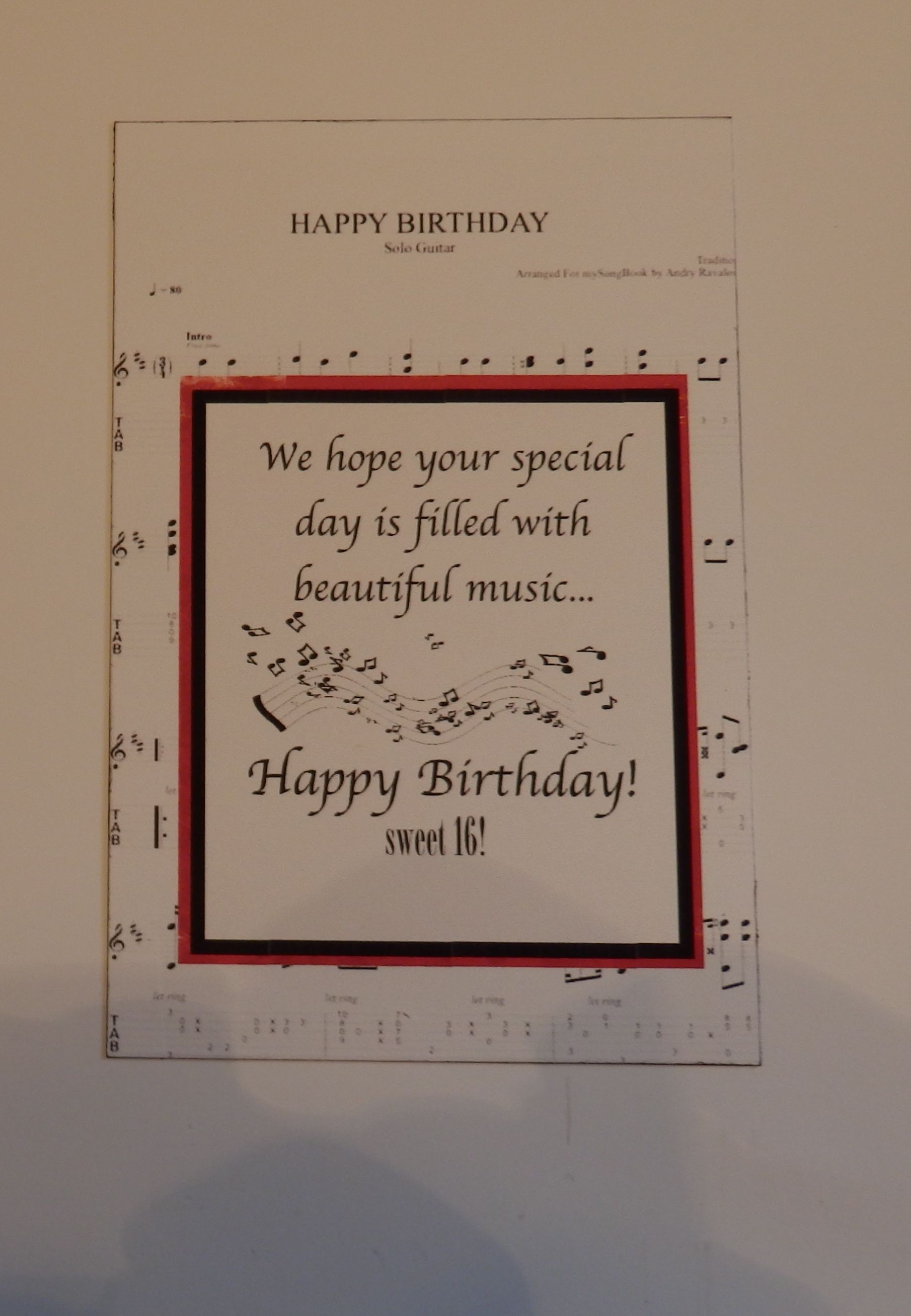 Verse For A Music Lover Lovers Envelopes Diana Verses Greeting Cards