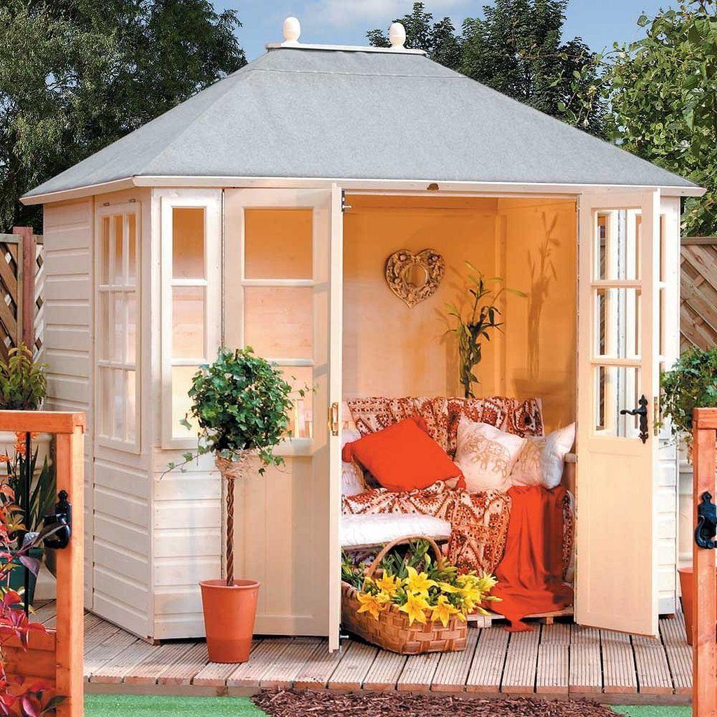 Stunning summer house decor ideas https kidmagz also building pinterest garden wooden rh