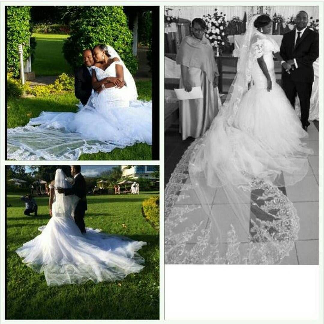 That veil!You looked stunning in your dress @echijarira   #bridaldress #zimbride #weddings #zimweddings by zimweddings https://www.instagram.com/p/BEqDACCkYHu/