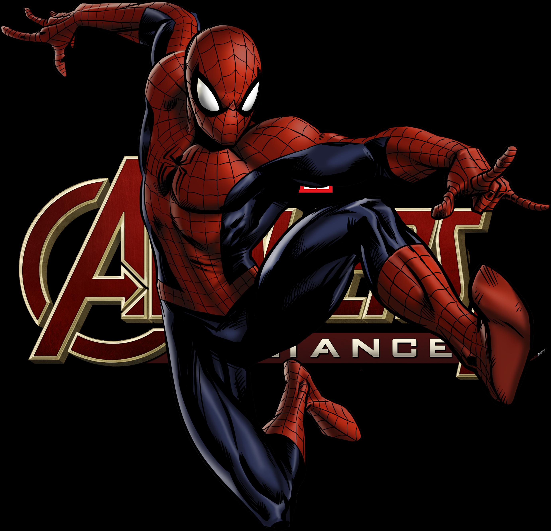 Maa2 Spider Man4 Full 01 Logo Png 2764 2660 Marvel Avengers Alliance Spiderman Comic Avengers Alliance