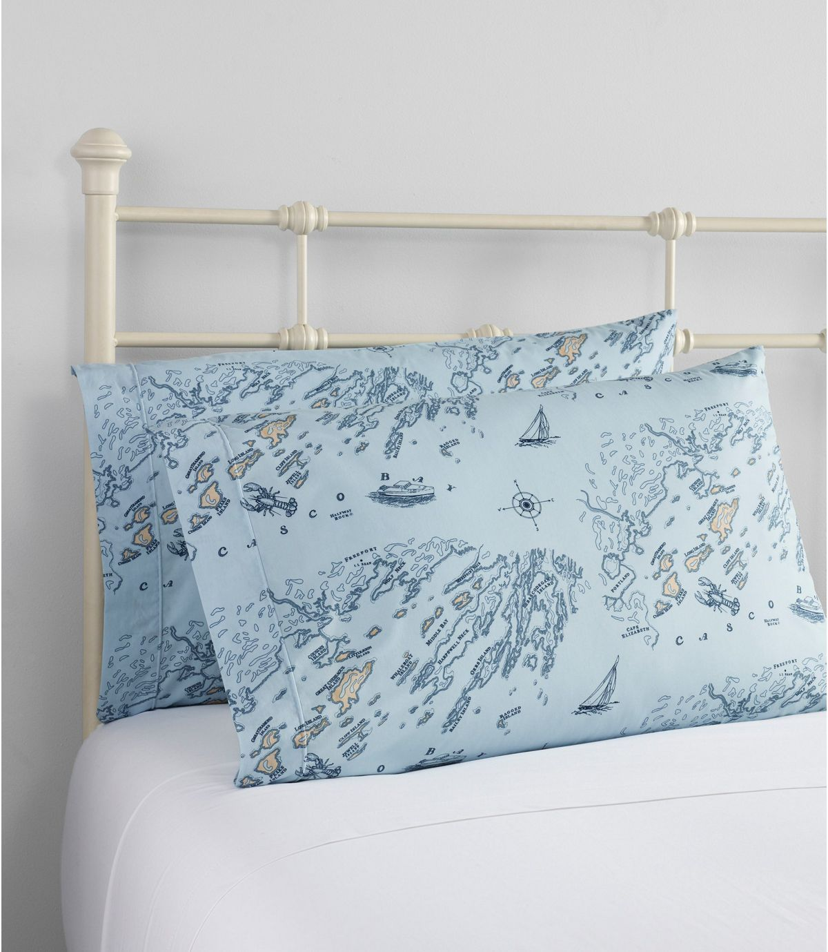 Nautical Map Percale Sheet Collection Percale Sheets Nautical Map Bedroom Makeover