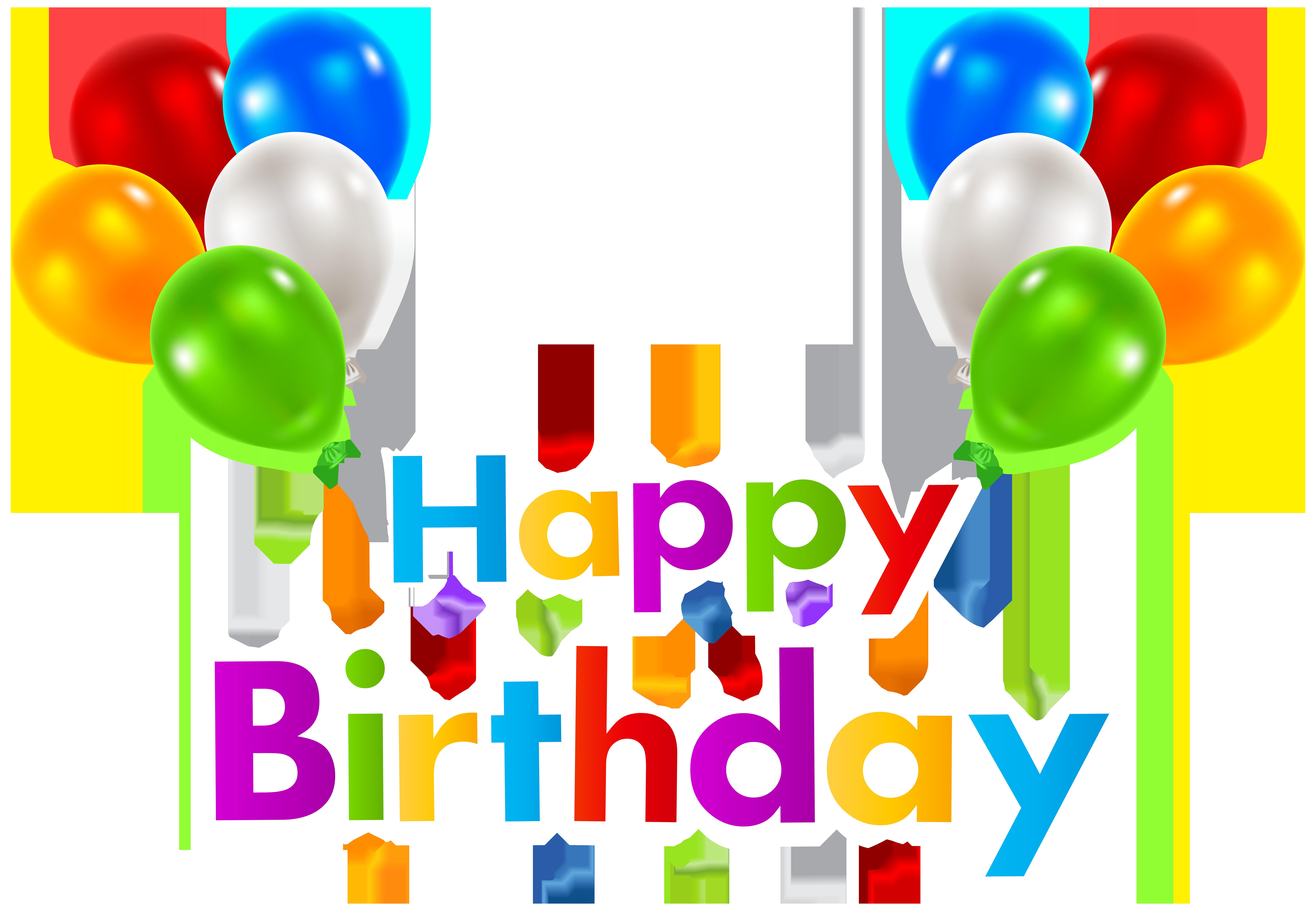Pin by digital effect on birthday birthday background - Happy birthday balloon images hd ...