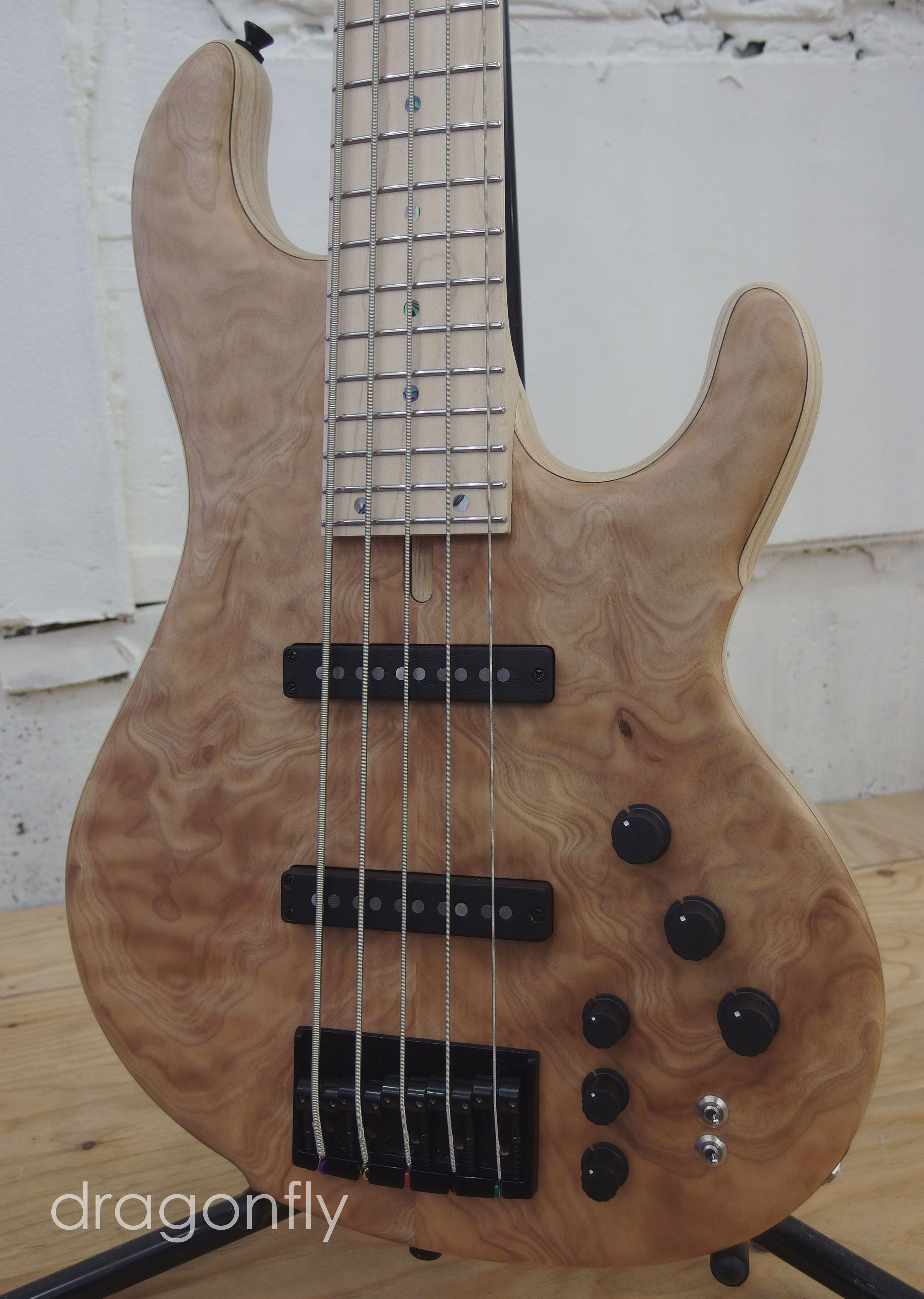 dragonfly Bass Guitar CS-5 CUSTOM   Yoshino-sugi top