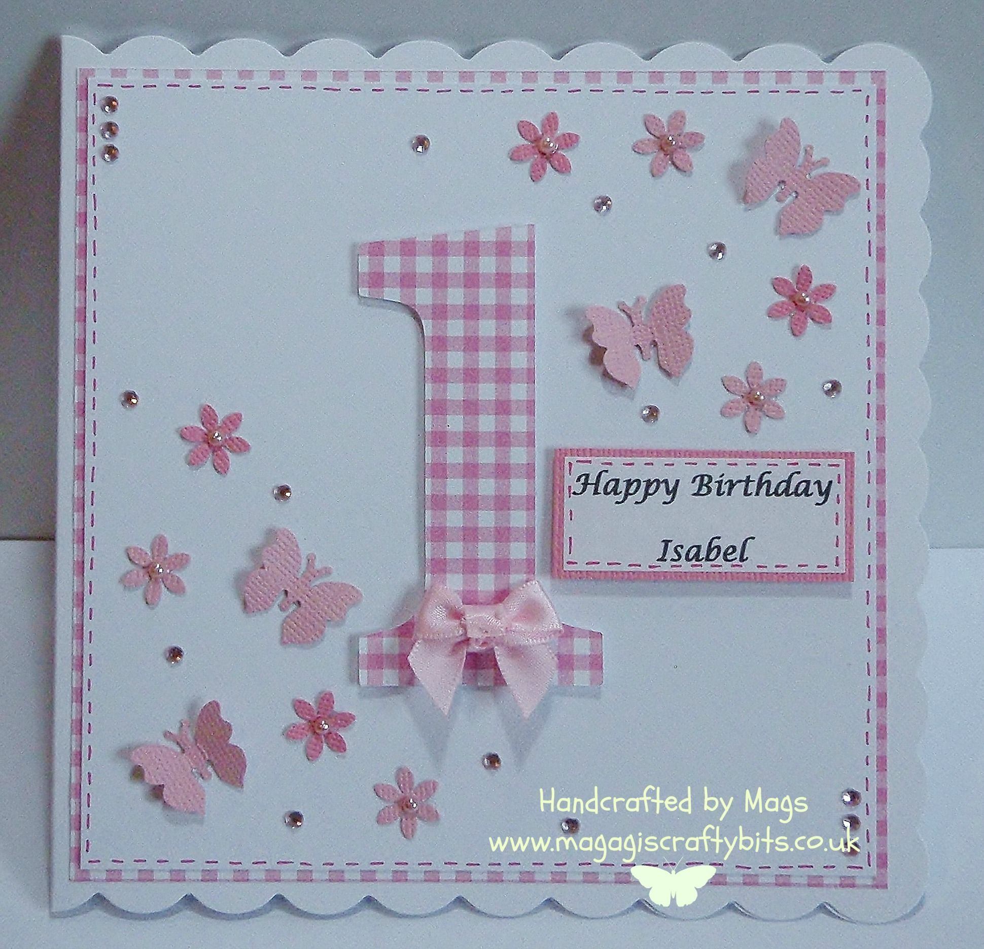 First birthday card First birthday cards, Baby cards