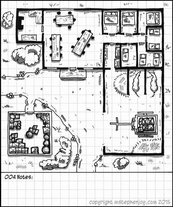 Travel House | RPG Maps in 2019 | Fantasy map, Dungeon maps