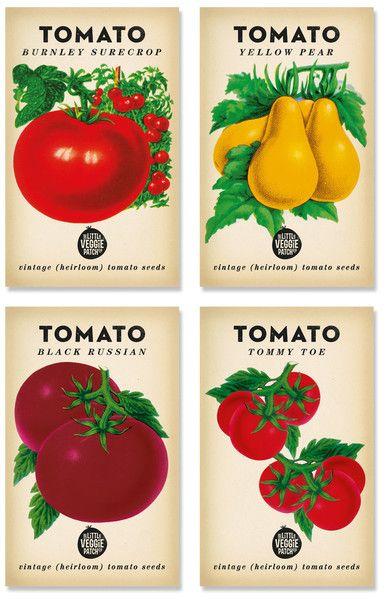Heirloom Tomato Seed Pack