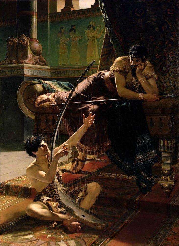 David and Saul Julius Kronberg 1885