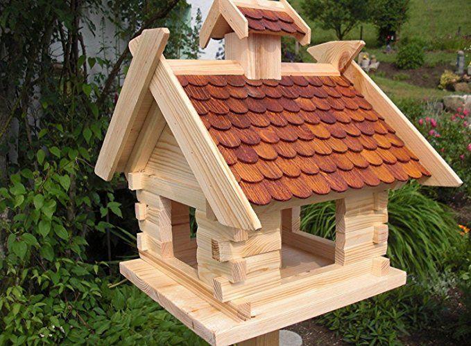 Deko Shop Hannusch Vogelhauschen Vogelhaus Mit