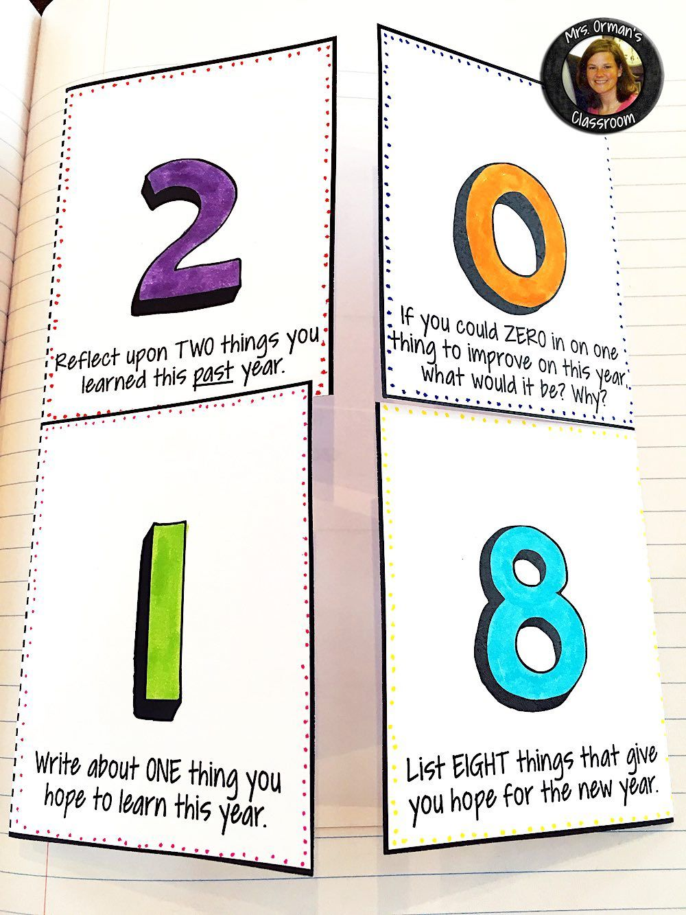 New Year Activities 2020 Resolution Goals Creative Growth Mindset New Years Activities English Teacher High School Middle School Literacy