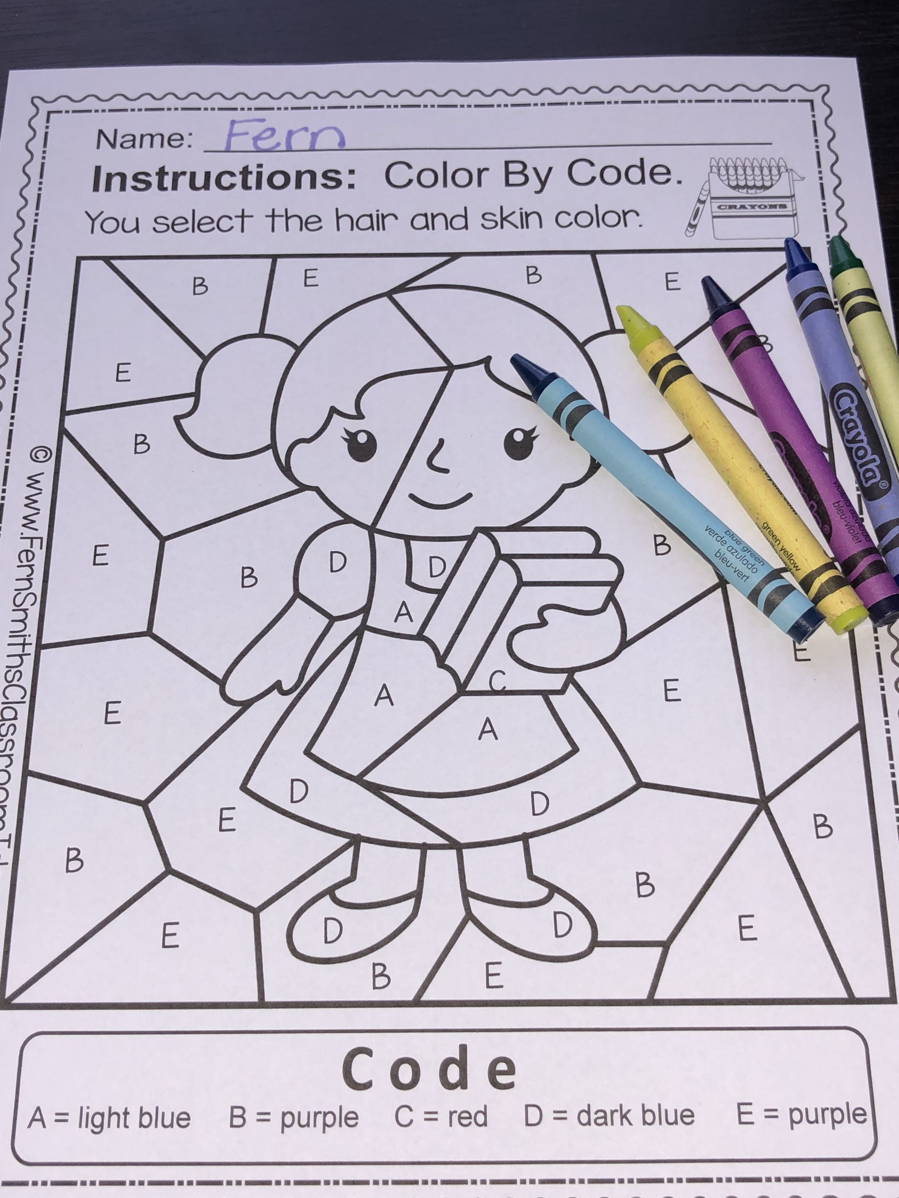 These Ten Alphabet Color By Code Worksheets Focus On Five To Six Letters At A Time Both Uppercase And Alphabet Coloring Fern Smith S Classroom Ideas Alphabet [ 4032 x 3024 Pixel ]