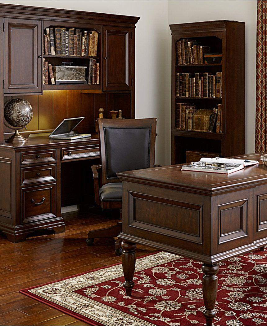 Incredible Cambridge Home Office Furniture 2 Piece Set Credenza Desk Home Interior And Landscaping Ologienasavecom