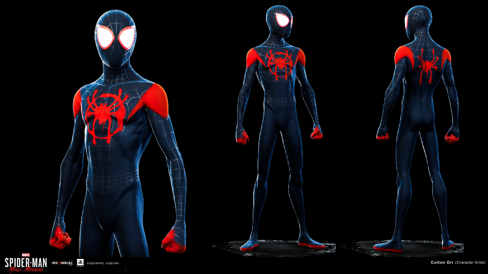 Artstation Spider Man Miles Morales Into The Spider Verse Suit Colton Orr Miles Morales Spiderman Miles Morales Miles Spiderman