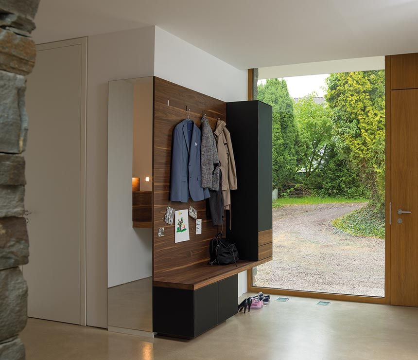 black and walnut hallway cabinet modern furniture hallway rh pinterest com