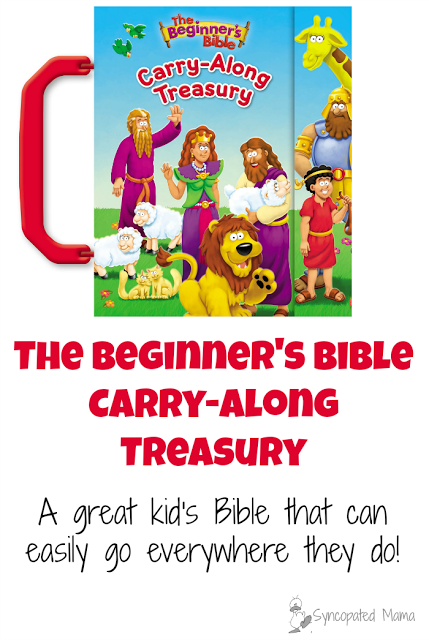 Give your child a Bible that can go everywhere he does!