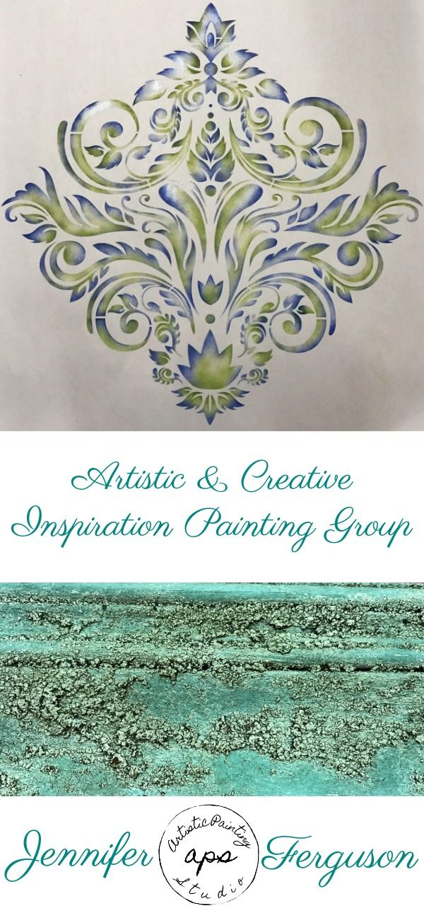 artistic creative inspiration painting group monthly membership rh pinterest com