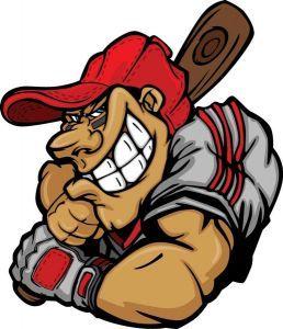 Baseball Cartoon Characters Vector Cartoon Cartoons Vector Baseball Vector
