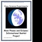 A fantastic project to use while teaching or reviewing the phases of the moon and the different types of eclipses!  The project asks students to ...