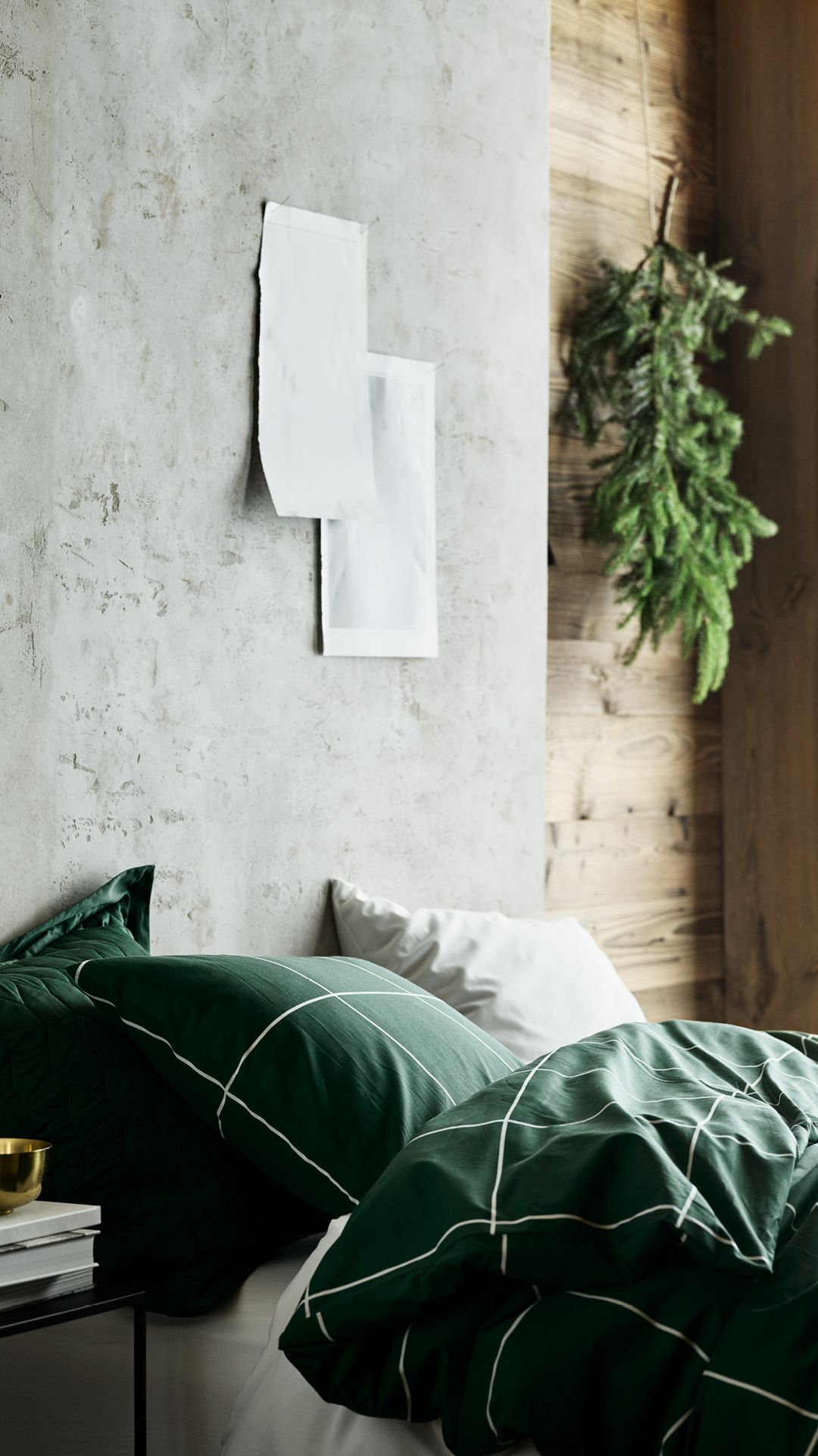 h m home make the holiday season less stressful with green bedding rh pinterest com