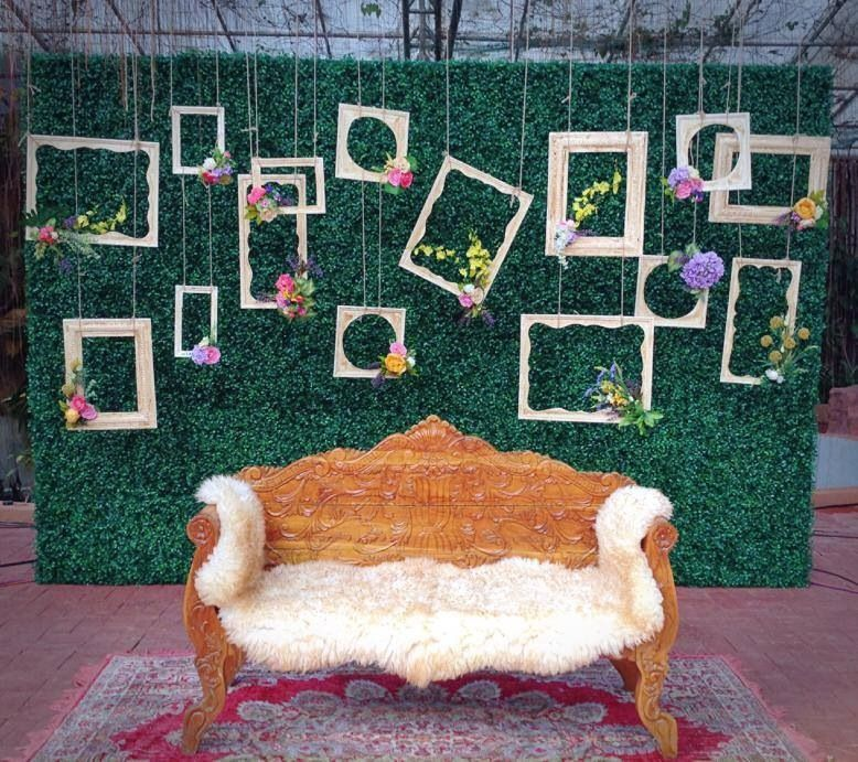 Rustic Chic Stage Backdrop