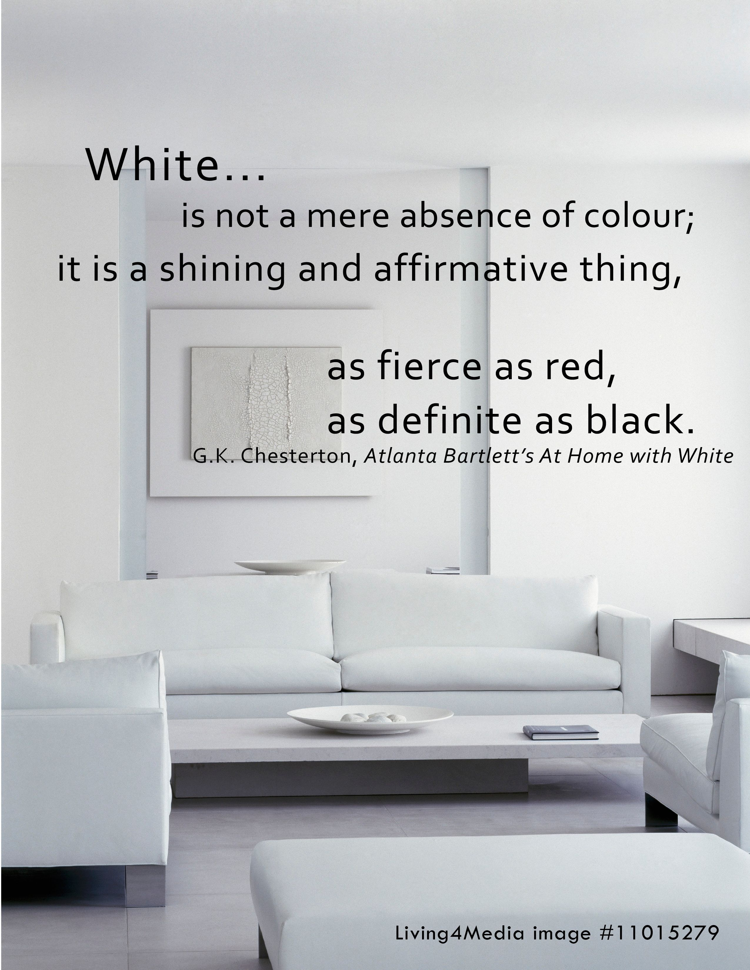 Ideas For Beautiful Interior Design Is Not A Mere Absence Of Colour