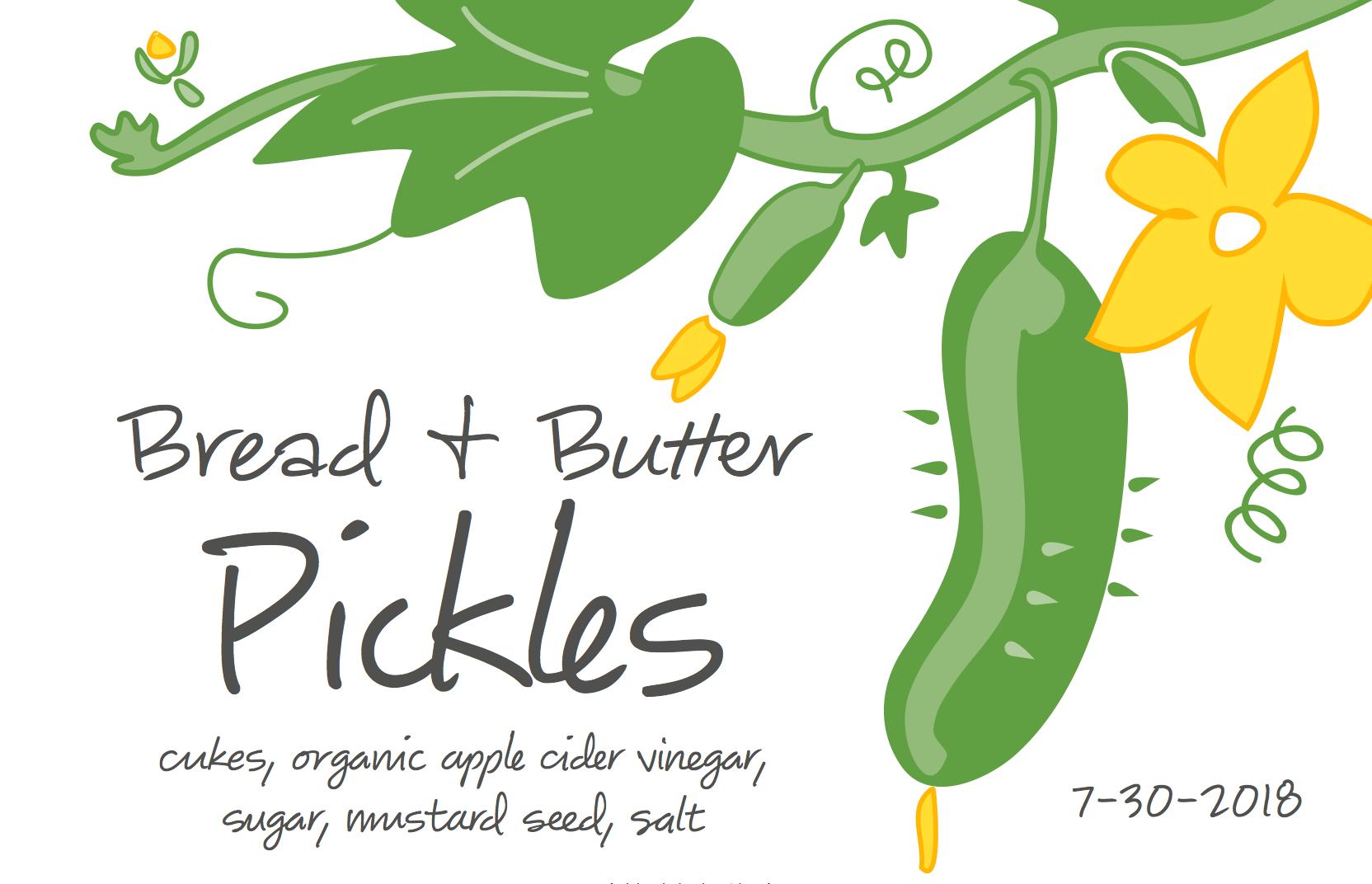 Pickle Label Label Templates Label Design Templates