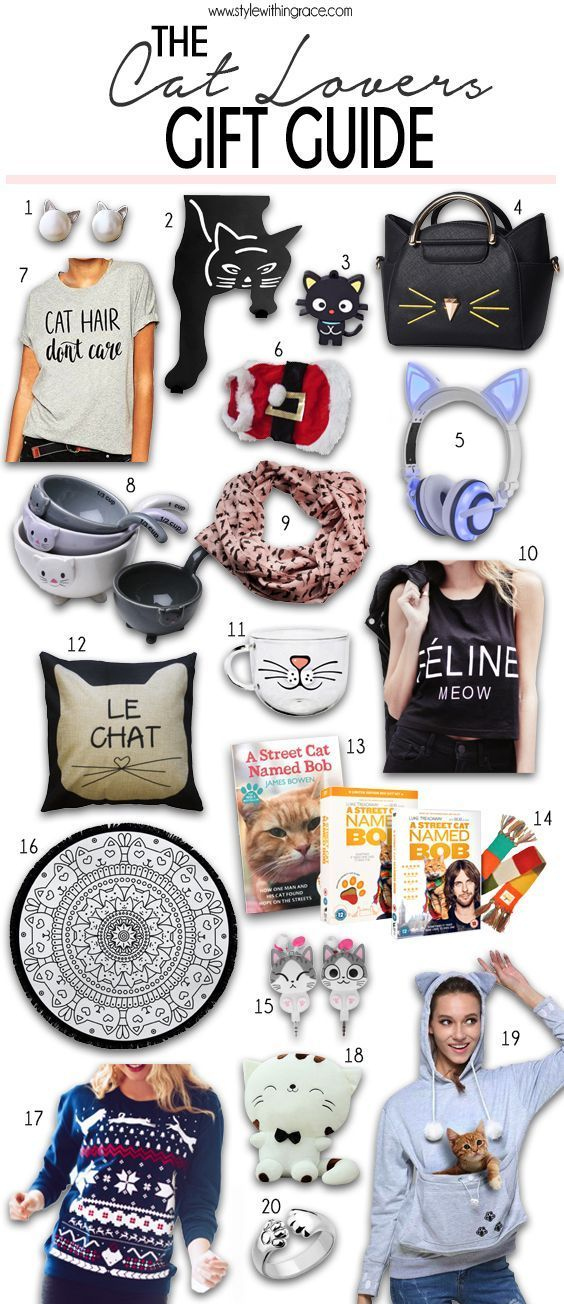 The Cat Lovers Gift Guide - Style Within Grace