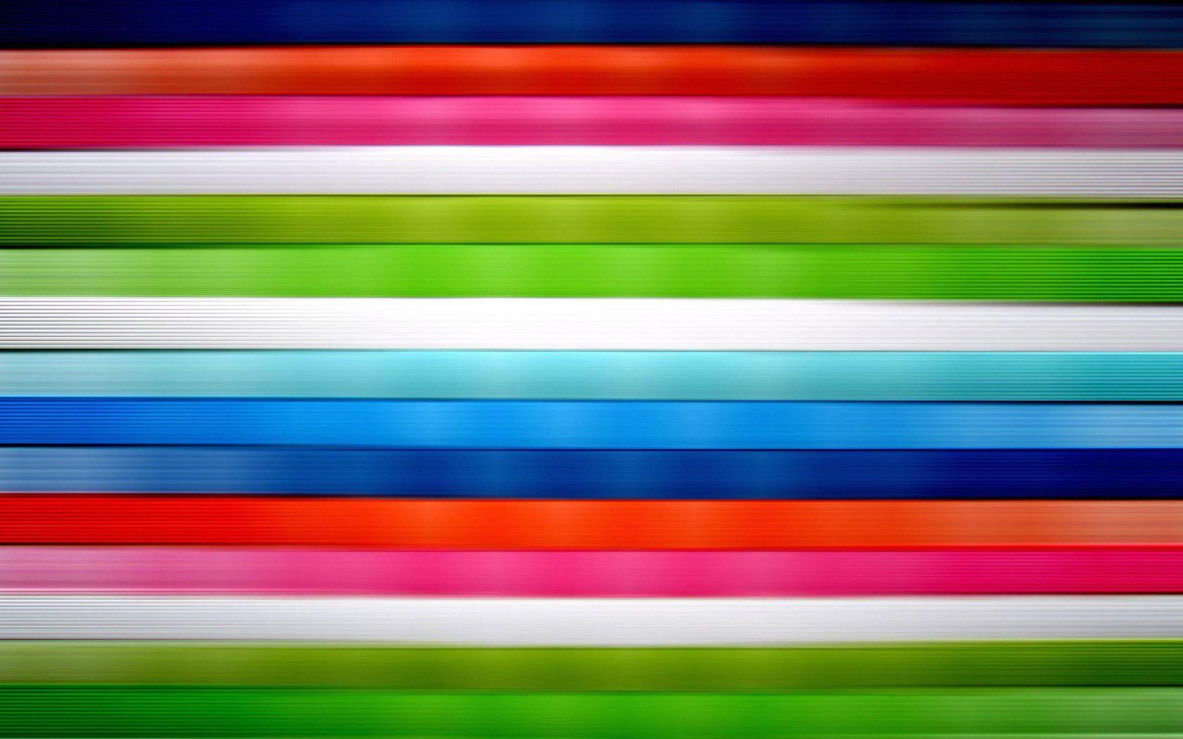 Horizontal Stripes | Download Horizontal vivid colored stripes wallpaper