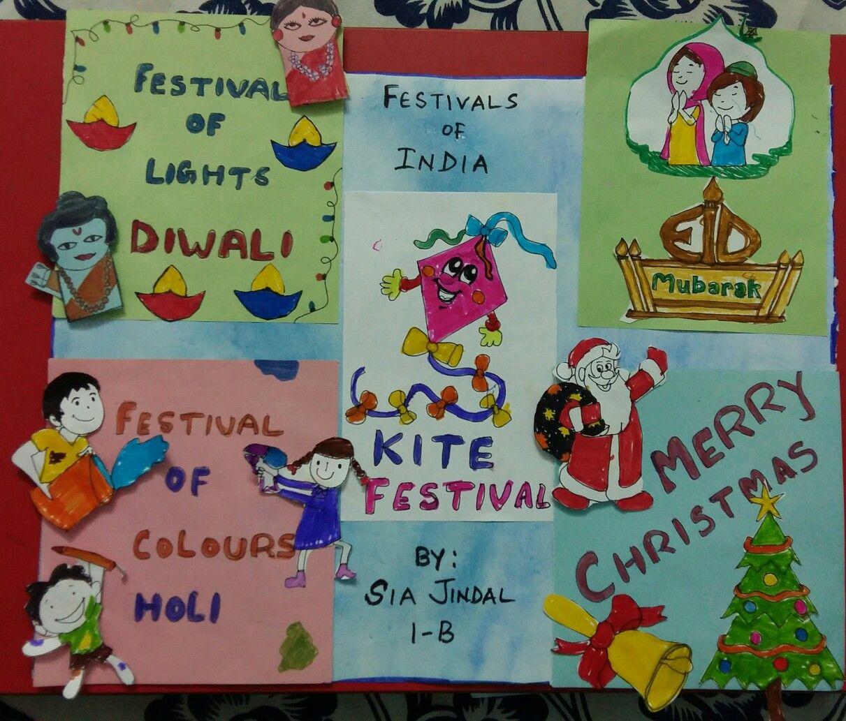 Festivals Of India Collage